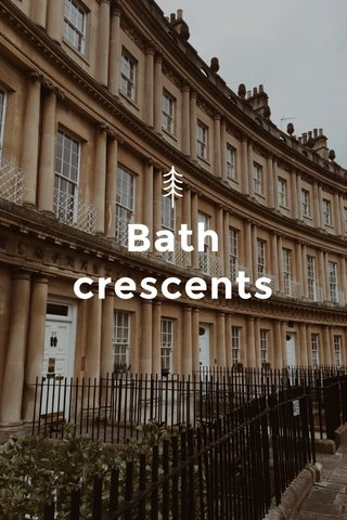 Bath crescents