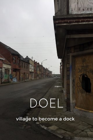 DOEL village to become a dock