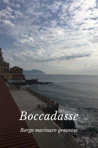Boccadasse Borgo marinaro genovese