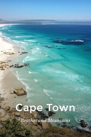 Cape Town Beaches and Mountains