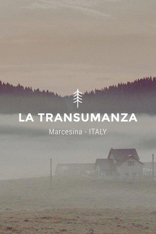 LA TRANSUMANZA Marcesina - ITALY