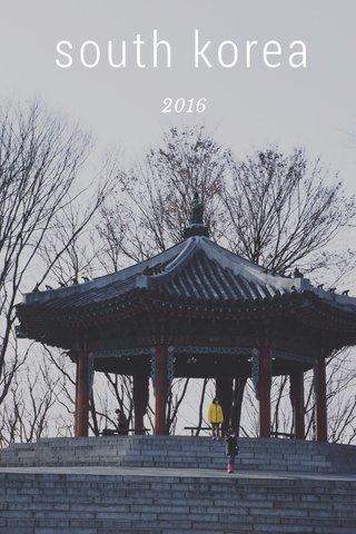south korea 2016