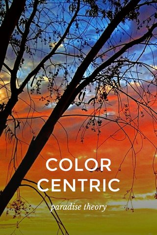 COLORCENTRIC paradise theory