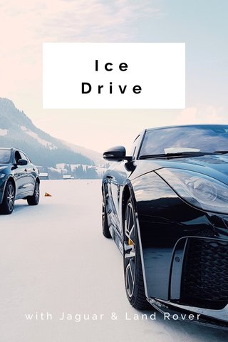 Ice Drive with Jaguar & Land Rover