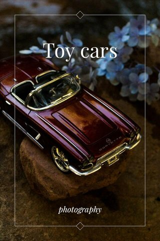 Toy cars photography