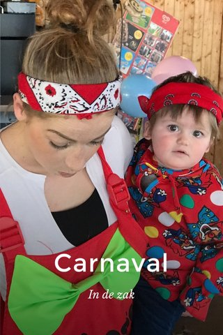 Carnaval In de zak