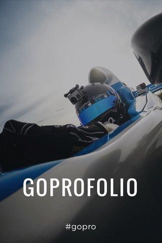 GOPROFOLIO #gopro