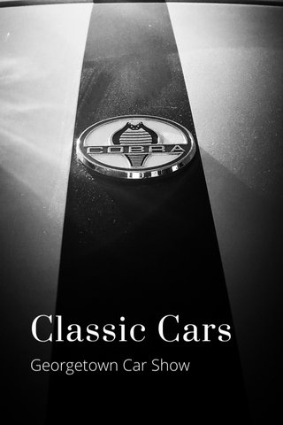 Classic Cars Georgetown Car Show