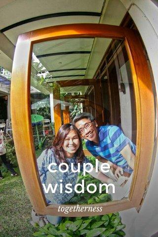 couple wisdom togetherness