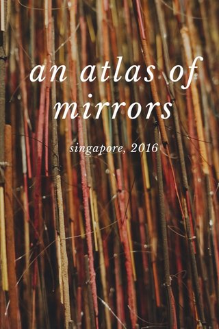 an atlas of mirrors singapore, 2016