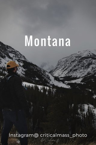 Montana Instagram@ criticalmass_photo