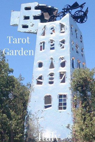 Italy Tarot Garden