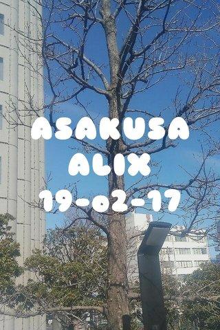ASAKUSA ALIX 19-o2-17