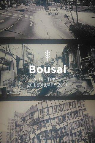 Bousai Sentaa ALIX - TOKYO 20 FEBRUARY 2017