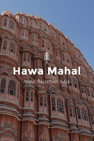 Hawa Mahal Jaipur, Rajasthan, India.
