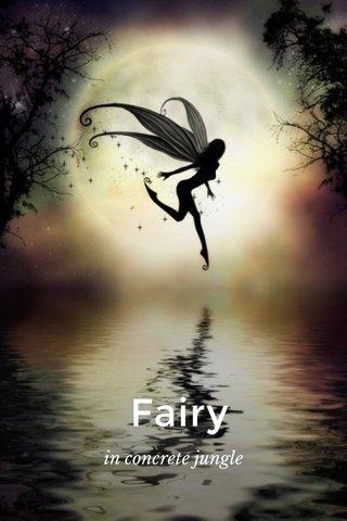Fairy in concrete jungle