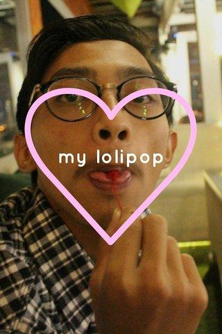 my lolipop