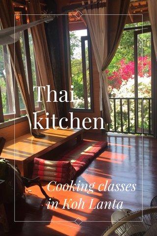Thai kitchen Cooking classes in Koh Lanta