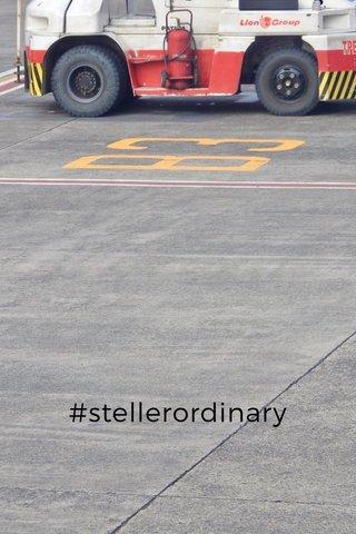 #stellerordinary
