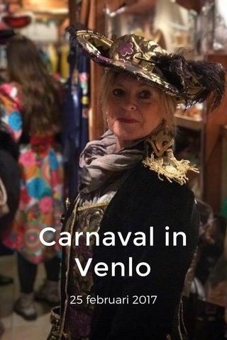 Carnaval in Venlo 25 februari 2017