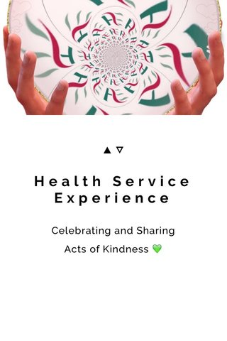 Health Service Experience