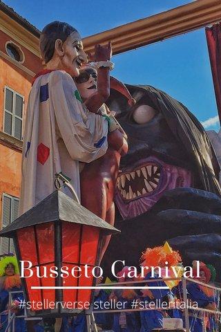 Busseto Carnival #stellerverse steller #stelleritalia
