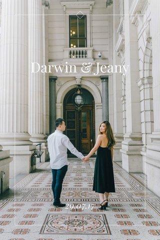 Darwin & Jeany 29.07.17