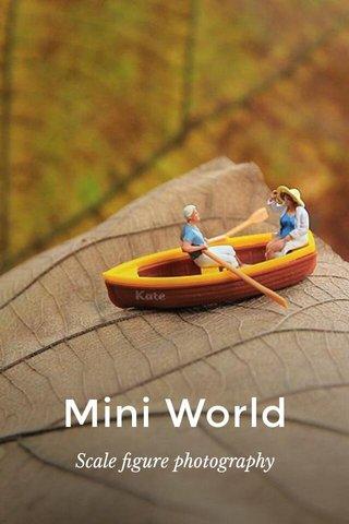 Mini World Scale figure photography