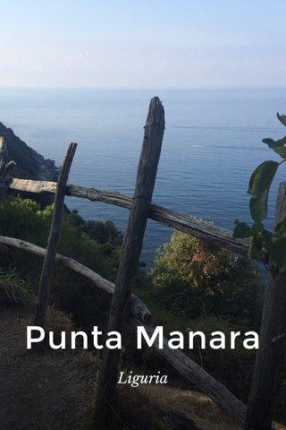 Punta Manara Liguria