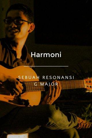 Harmoni SEBUAH RESONANSI G MAJOR