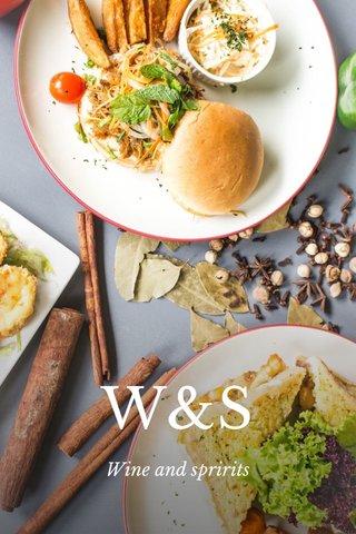 W&S Wine and spririts