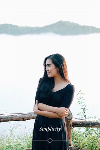 Portrait Simplicity