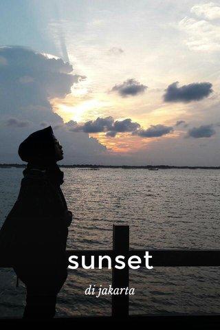 sunset di jakarta
