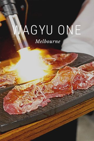 WAGYU ONE Melbourne