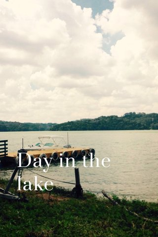 Day in the lake