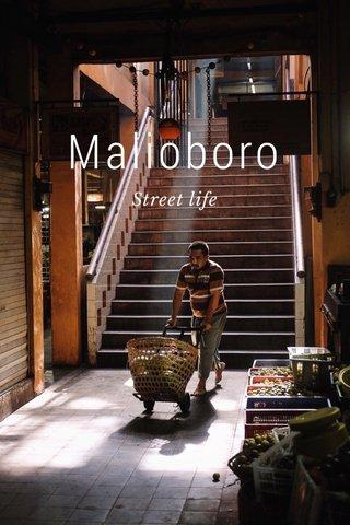 Malioboro Street life