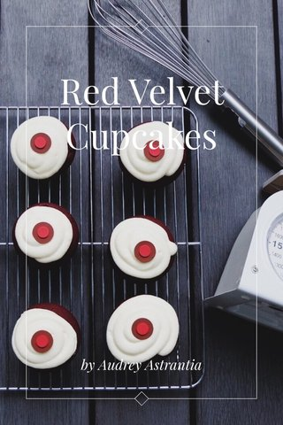 Red Velvet Cupcakes by Audrey Astrantia