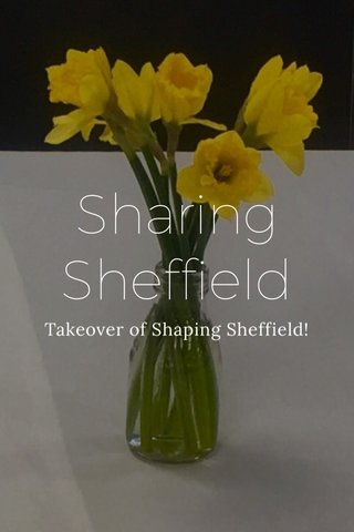 Sharing Sheffield Takeover of Shaping Sheffield!