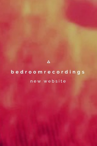 bedroomrecordings new website