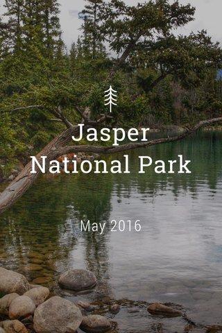 Jasper National Park May 2016