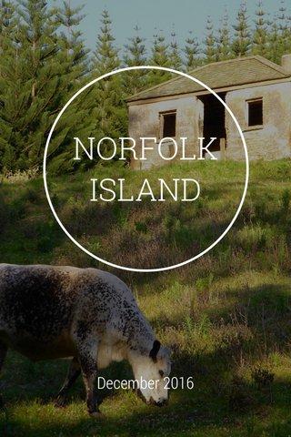NORFOLK ISLAND December 2016