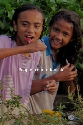 People from Indonesië