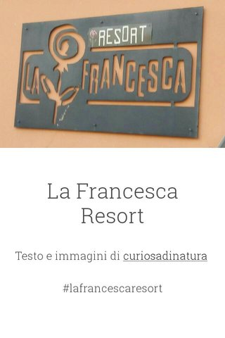 La Francesca Resort