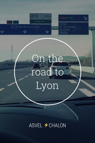 On the road to Lyon ASVEL ⚡️CHALON