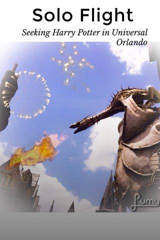 Solo Flight Seeking Harry Potter in Universal Orlando