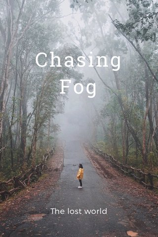 Chasing Fog The lost world