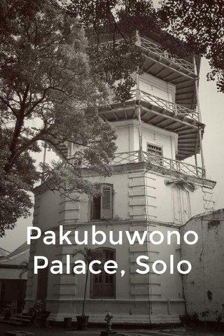 Pakubuwono Palace, Solo