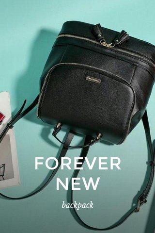 FOREVER NEW backpack