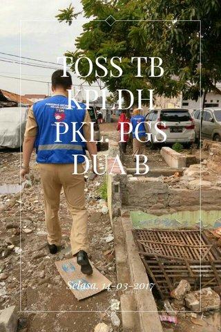 TOSS TB KPLDH PKL. PGS DUA B Selasa, 14-03-2017