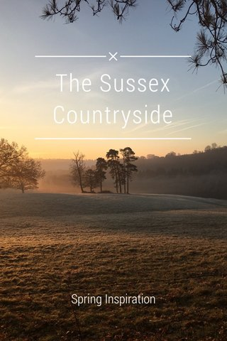 The Sussex Countryside Spring Inspiration